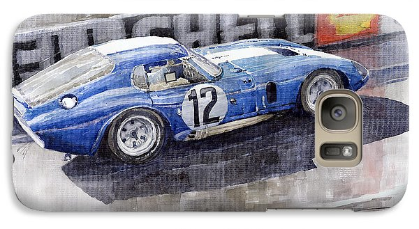 1965 Le Mans  Daytona Cobra Coupe  Galaxy S7 Case by Yuriy Shevchuk