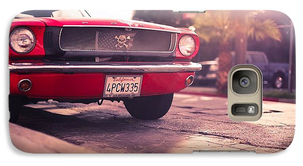 Galaxy Case featuring the photograph 1966 Ford Mustang Convertible by Gianfranco Weiss
