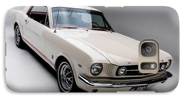 Galaxy Case featuring the photograph 1966 Gt Mustang by Gianfranco Weiss