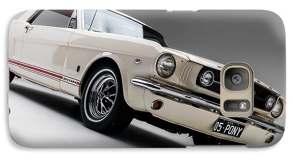 Galaxy Case featuring the photograph 1966 Mustang Gt by Gianfranco Weiss