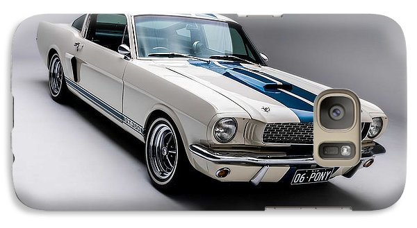 Galaxy Case featuring the photograph 1966 Mustang Gt350 by Gianfranco Weiss