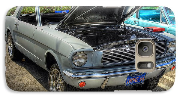 Galaxy Case featuring the photograph 1966 Mustang  by Kevin Ashley