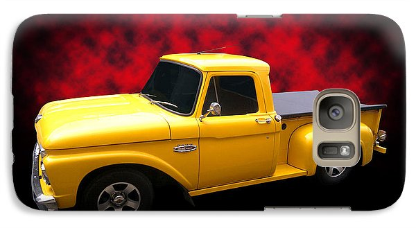 Galaxy Case featuring the photograph 1966 Pickup by Keith Hawley