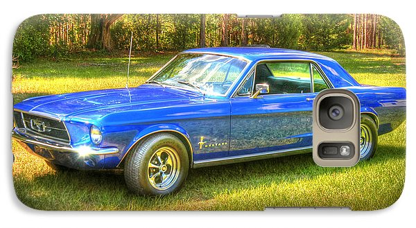 Galaxy Case featuring the photograph 1967 Ford Mustang by Donald Williams
