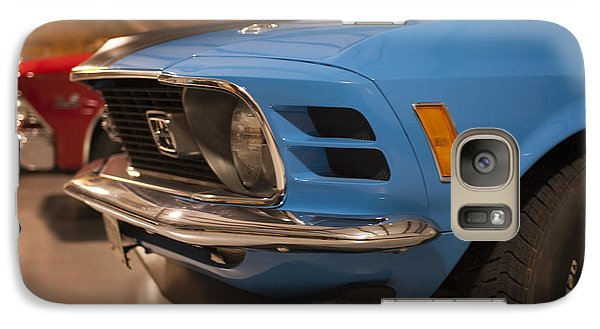1970 Mustang Mach 1 And Other Classics Hidden In A Garage Galaxy S7 Case