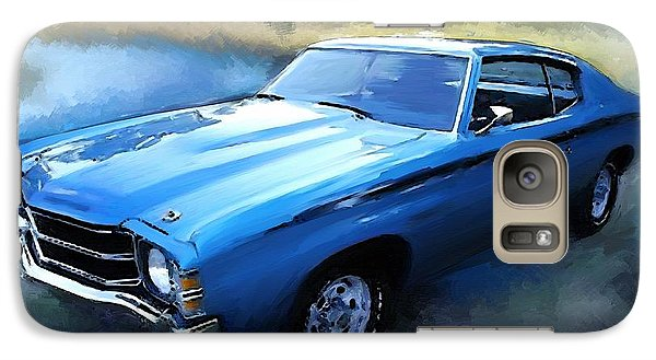 Galaxy Case featuring the painting 1971 Chevy Chevelle by Robert Smith