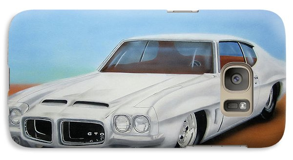 Galaxy Case featuring the painting 1972 Pontiac Gto by Thomas J Herring