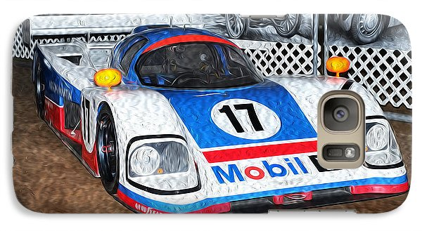 Galaxy Case featuring the painting 1989 Aston Martin Amr1/4 by Boris Mordukhayev