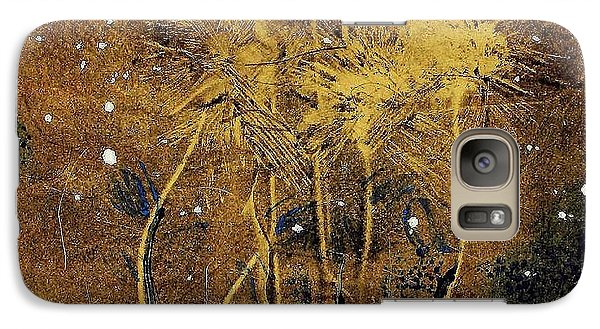 Galaxy Case featuring the painting 1st Love by Lesley Fletcher