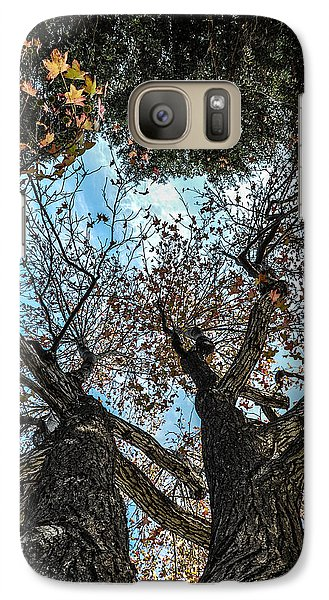 Galaxy Case featuring the photograph 1st Tree by Gandz Photography
