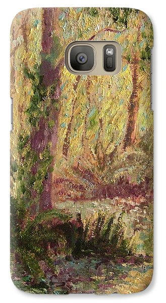 Galaxy Case featuring the painting  Rosemary  Creek by Beth Arroyo