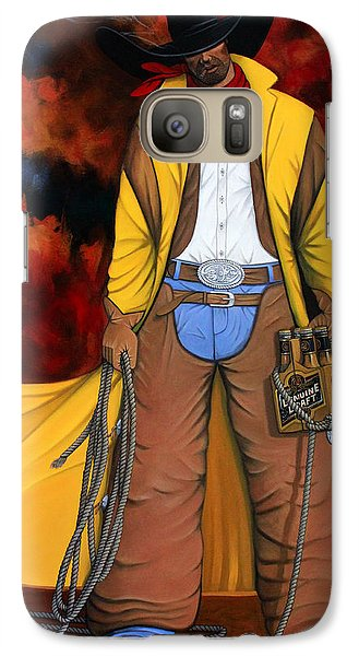 Galaxy Case featuring the painting 10 Pac by Lance Headlee