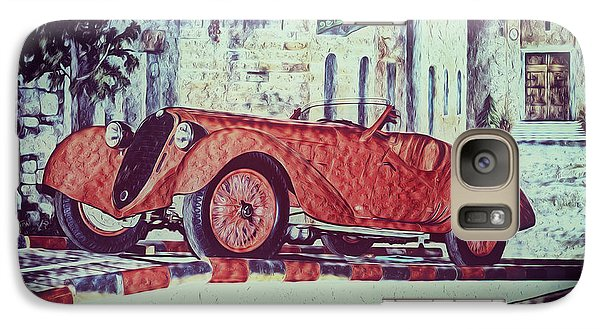 Galaxy Case featuring the painting 1937 Alfa Romeo 8c 2900a by Boris Mordukhayev