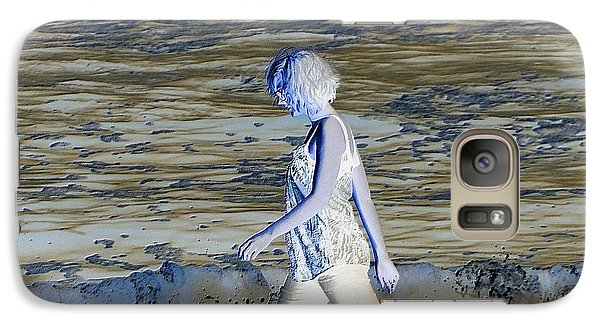 Galaxy Case featuring the photograph A Chance Of Something by Nick David
