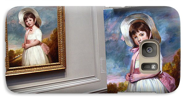Galaxy Case featuring the photograph A Painting Of A Painting by Cora Wandel
