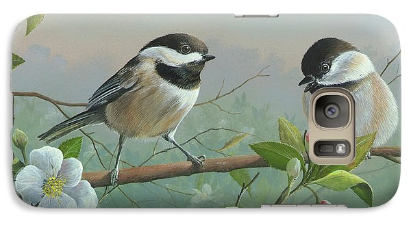 Galaxy Case featuring the painting A Wonderful Day by Mike Brown