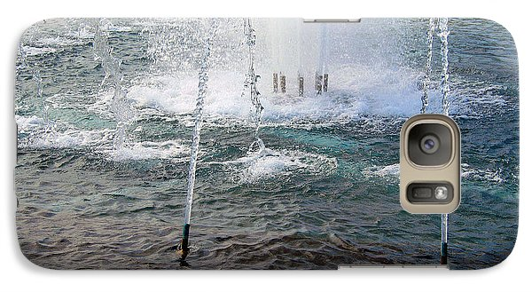 Galaxy Case featuring the photograph A World War Fountain by Cora Wandel