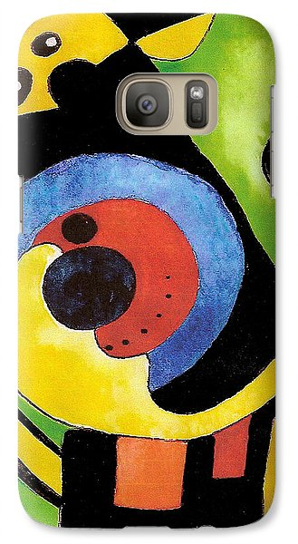 Galaxy Case featuring the painting Abstract Dream by Nan Wright