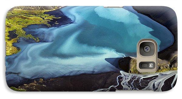 Galaxy Case featuring the photograph Aerial Photography by Gunnar Orn Arnason