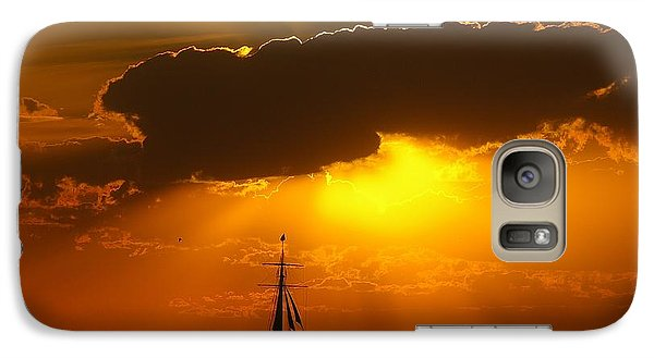 Galaxy Case featuring the photograph After The Storm by Randy Pollard
