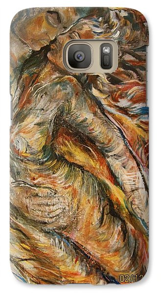 Galaxy Case featuring the painting Air by Dawn Fisher