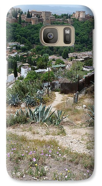 Galaxy Case featuring the photograph Alhambra Granada by Phil Banks