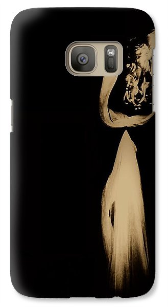 Galaxy Case featuring the photograph Alone  by Jessica Shelton