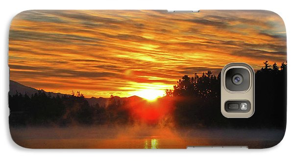 Galaxy Case featuring the photograph American Lake Sunrise by Tikvah's Hope