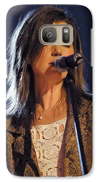 Galaxy Case featuring the photograph Amy Grant by Don Olea