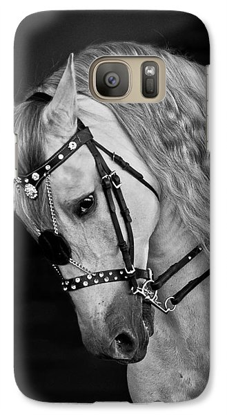 Galaxy Case featuring the photograph Andalusian D9098 by Wes and Dotty Weber
