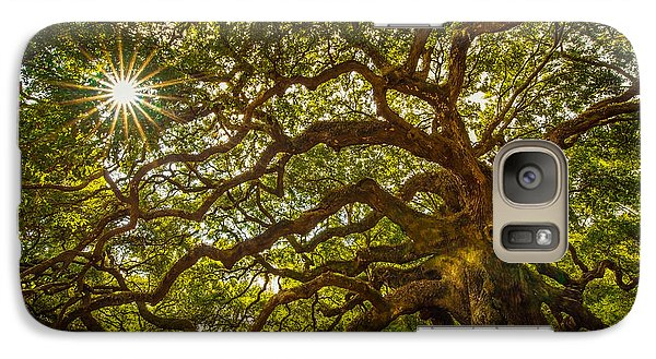 Galaxy Case featuring the photograph Angel Oak by Serge Skiba