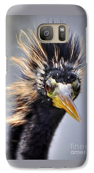 Galaxy Case featuring the photograph Anhinga  by Savannah Gibbs