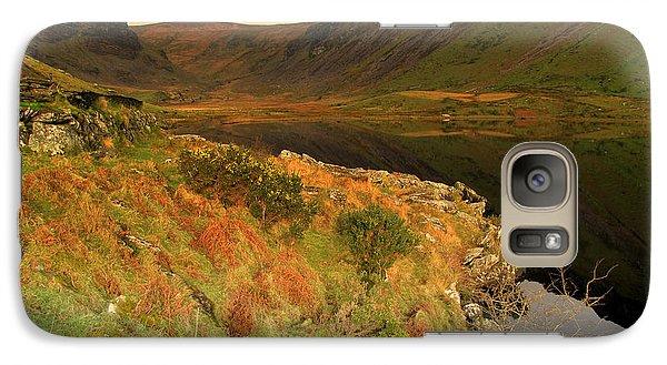 Galaxy Case featuring the photograph Annascaul Lake by Barbara Walsh