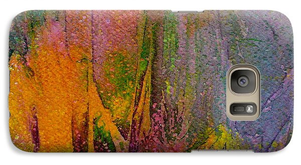Galaxy Case featuring the painting Anticipation  by Mary Sullivan