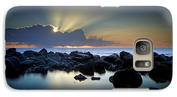 Aqua Marine Galaxy S7 Case