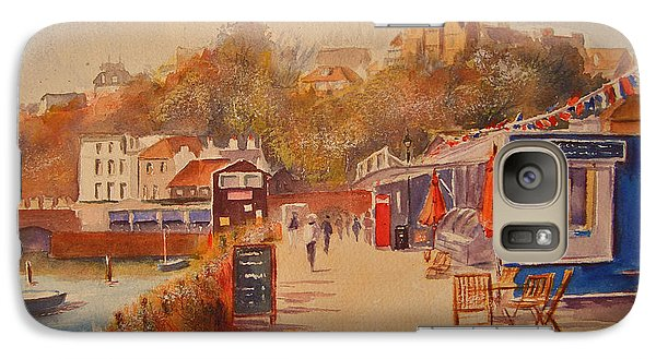 Around Folkestone Harbour Galaxy S7 Case by Beatrice Cloake