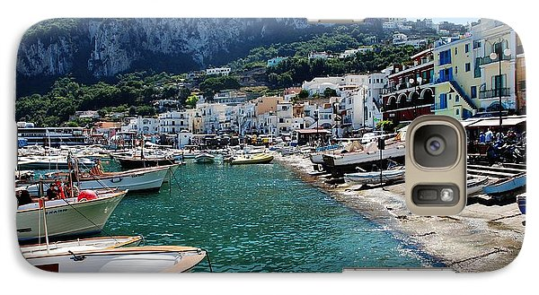 Galaxy Case featuring the photograph Arrival To Capri  by Dany Lison