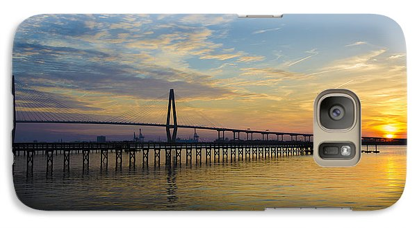 Galaxy Case featuring the photograph Magical Blue Skies by Dale Powell
