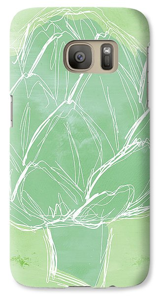 Artichoke Galaxy S7 Case by Linda Woods