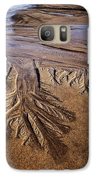 Galaxy Case featuring the photograph Artwork Of The Tides by Gary Slawsky
