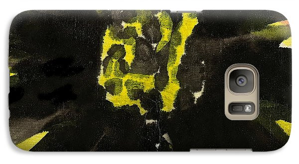Galaxy Case featuring the painting Asian Sunflower by Joan Reese