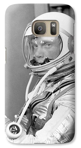 Astronaut Galaxy S7 Case - Astronaut John Glenn - Mercury Atlas 6 by War Is Hell Store