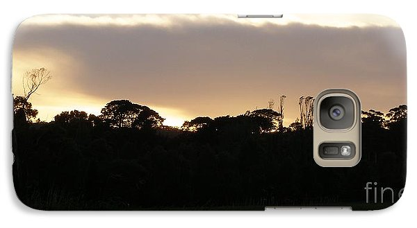 Galaxy Case featuring the photograph Australian Sunrise by Bev Conover