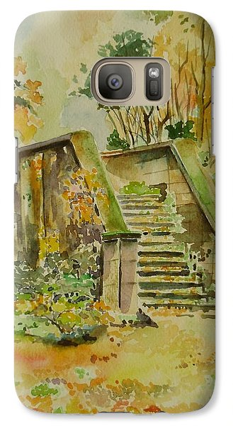 Galaxy Case featuring the painting Autumn by Geeta Biswas