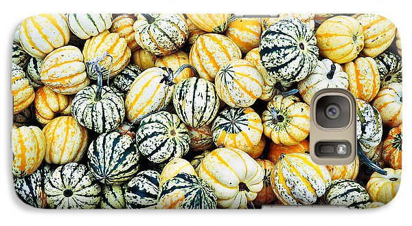 Galaxy Case featuring the photograph Autumn Gourds by Crystal Hoeveler
