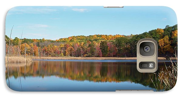 Galaxy Case featuring the photograph Autumn Pond by Aimee L Maher Photography and Art Visit ALMGallerydotcom