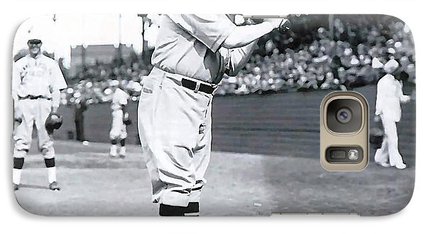 Babe Ruth Galaxy Case by Marvin Blaine