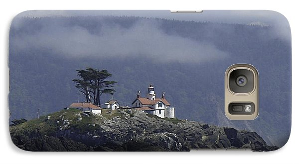Galaxy Case featuring the photograph Battery Point Lighthouse by Betty Depee