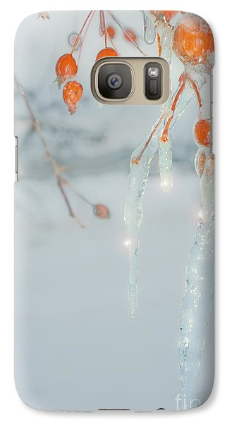 Galaxy Case featuring the photograph Before The Thaw by Sandi Mikuse