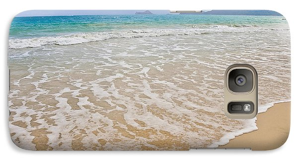 Galaxy Case featuring the photograph Bellows Beach by Gina Savage